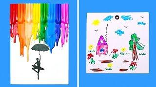 11 UNIQUE IDEAS FOR KIDS ART PROJECTS