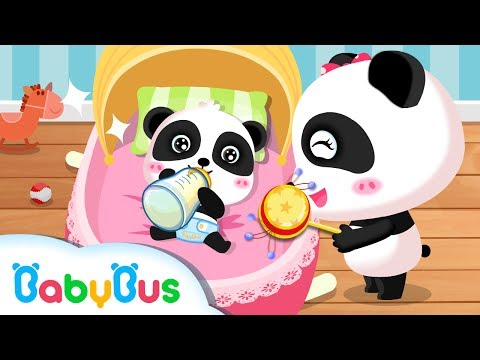 baby panda care animation for babies babybus