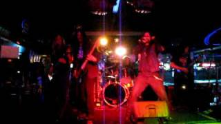 """Deathriders performing """"Death From Above"""" at Angel's Sports Bar on November 7th 2009"""