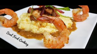 Shrimp and Grits Recipe – How to make Shrimp and Grits – #SoulFoodSunday