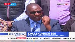 Kauli kuhusu BBI : Wanasiasa Uasin Gishu wazungumza, wanalaumu matamshi ya Chuki