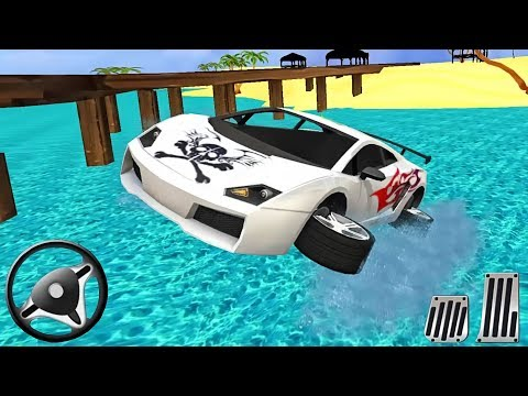 Water Surfer Car Floating Race | Android GamePlay | Video For Kids