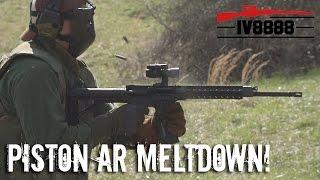 Ultimate Piston AR15 Meltdown
