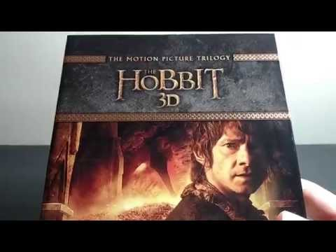 The Hobbit Trilogy: Extended Edition 3D Blu-ray Unboxing