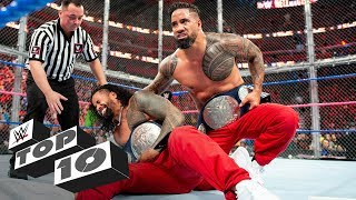 The Usos are back! Celebrate the return of the six-time Tag Team Champions with Jimmy and Jey's greatest moments. GET YOUR 1st MONTH of WWE NETWORK for FREE: http://wwe.yt/wwenetwork --------------------------------------------------------------------- Follow WWE on YouTube for more exciting action! --------------------------------------------------------------------- Subscribe to WWE on YouTube: http://wwe.yt/ Check out WWE.com for news and updates: http://goo.gl/akf0J4 Watch WWE on Sony in India: http://www.sonypicturessportsnetwork.com/sports-details/18/wwe Find the latest Superstar gear at WWEShop: http://shop.wwe.com --------------------------------------------- Check out our other channels! --------------------------------------------- The Bella Twins: https://www.youtube.com/thebellatwins UpUpDownDown: https://www.youtube.com/upupdowndown WWEMusic: https://www.youtube.com/wwemusic Total Divas: https://www.youtube.com/wwetotaldivas ------------------------------------ WWE on Social Media ------------------------------------ Twitter: https://twitter.com/wwe Facebook: https://www.facebook.com/wwe Instagram: https://www.instagram.com/wwe/ Reddit: https://www.reddit.com/user/RealWWE Giphy: https://giphy.com/wwe ------------------------------------ WWE Podcasts ------------------------------------ After the Bell with Corey Graves: http://bit.ly/afterthebellpodcast The New Day: Feel the Power: https://link.chtbl.com/7Fp6uOqk