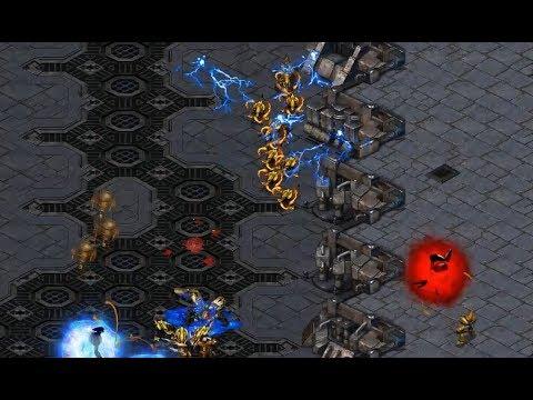 Hero (Z) v Snow (P) on Transistor - StarCraft  - Brood War REMASTERED