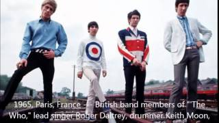 The Who -  I Don't Know Myself ( live) + studio version.