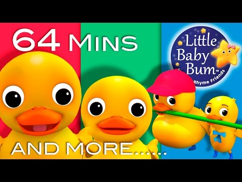Six Little Ducks Plus Lots More Nursery Rhymes 64 Minutes Compilation From LittleBabyBum