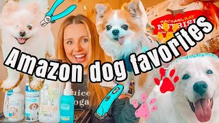 AMAZON FAVORITES:  DOG MUST HAVES!