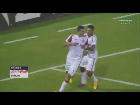 Gol | BRUNO MOTA | 17.10.2017 - Brasileiro Série B | CRB 2 x 2 Náutico