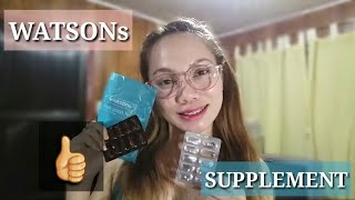 WATSONS• COLLAGEN AND GLUTATHIONE SUPPLEMENT• Pangpa-bata at Pangpa-puti⁉