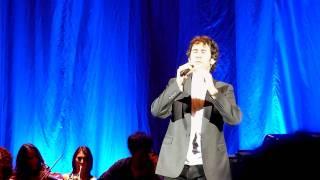 Josh Groban singing If I walk away - HMV Apollo - 11 Oct 2011