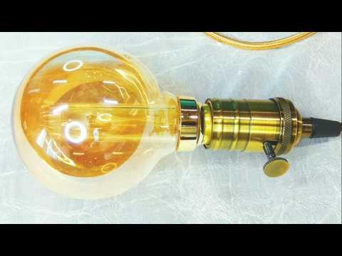 Светодиодный ретро светильник / LED retro lamp