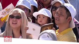 La messe présidée par le Pape à Abou Dhabi