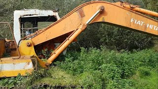 Rescuing an abandoned Fiat Hitachi FH150 Excavator – Part 2