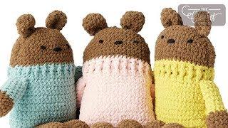 Crochet Square Bear