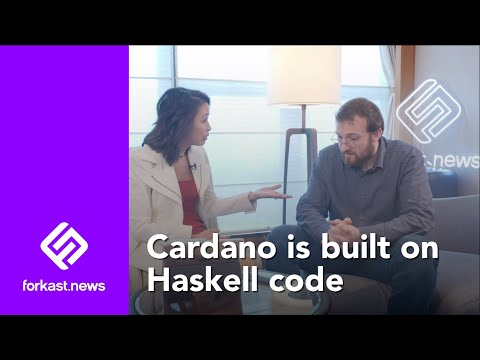 Charles Hoskinson On Why Haskell Code for Cardano? | Forkast.News