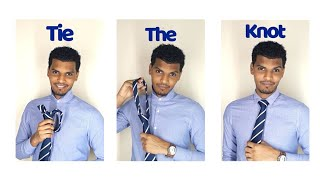 BEST way to tie a tie QUICK and EASY | MUST KNOW Tricks for a Windsor knots.