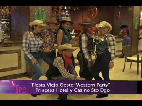 Concurso de disfraces Western Party Princess hotel y casino TipsTV 2-7-16