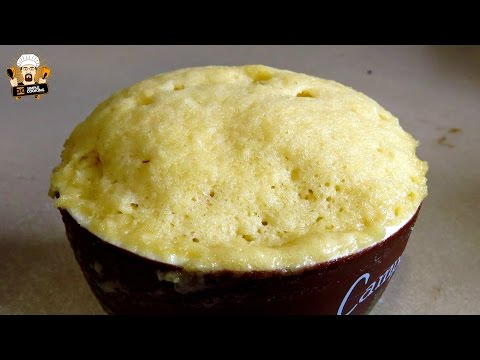 Video VANILLA MUG CAKE RECIPE