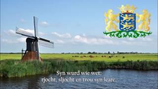 Regional Anthem of Friesland (Netherlands) - De âlde Friezen