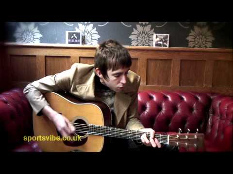'Come Closer' [Acoustic version] - Miles Kane - Sportsvibe TV