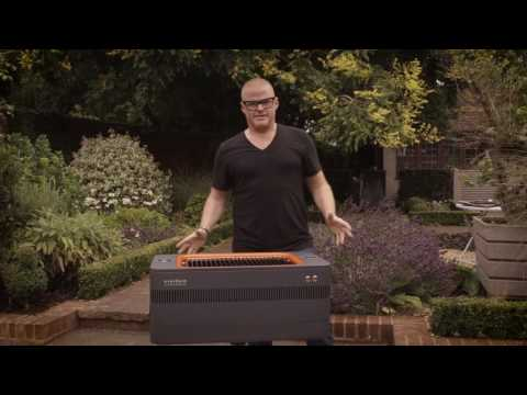 Everdure By Heston Blumenthal FUSION Charcoal Grill - Extended