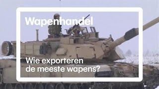 Deze landen verdienen miljarden met wapenhandel - RTL NIEUWS
