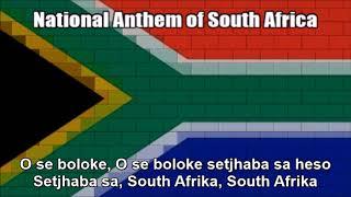 National Anthem of South Africa (Nightcore Style With Lyrics) - VERSION 2