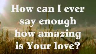 How Can I Keep from Singing (traditional & Chris Tomlin) accompaniment video
