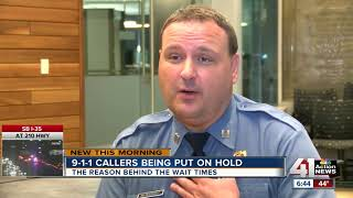 911 hold time nearly 30 seconds as KCPD tries to hire more staff