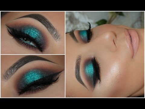 Make Up Tutorial Switch Up Your Smokey Eye Look With Teal