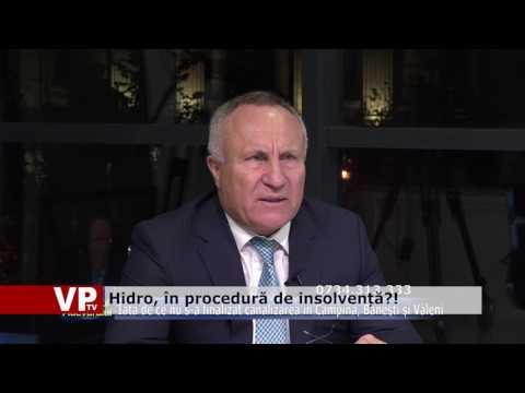 Hidro, în procedură de insolvență?!