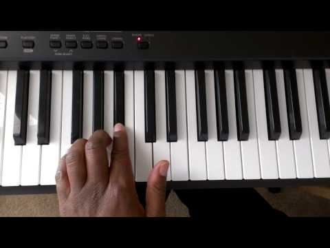 Download Major Scales: How To Play F Major Scale On Piano (Right And Left Hand) HD Mp4 3GP Video and MP3