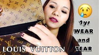 LOUIS VUITTON Reverse Monogram Pochette Metis 1yr Wear And Tear || Peteygurl