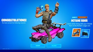 How To Do The LLAMA RAMA Challenges In Rocket League (Fortnite Free Rewards)