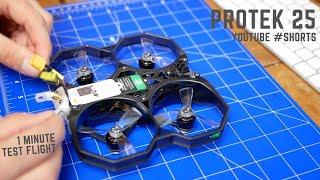 FPV #Shorts ProTek 25 + Insta360 GO - 1 minute of test flight