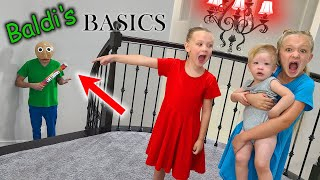 Stealing Baldi's Ruler and Swapping It With Funny Things!!!