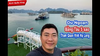 KHÁM PHÁ VỊNH HẠ LONG BẰNG DU THUYỀN | KINH QUỐC TV