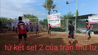 Giải bóng chuyền 4*4 mở rộng tại biên hoà đồng nai.tứ kết(set2 của trận thứ 4)
