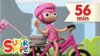 10 Little Bicycles | + More Kids Songs | Super Simple Songs