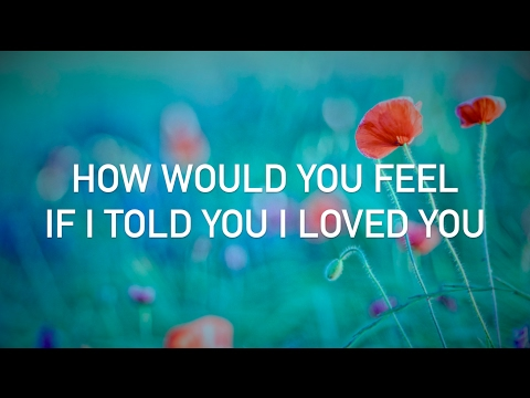 Ed Sheeran - How Would You Feel (Paean) (live acoustic, with lyrics) (видео)
