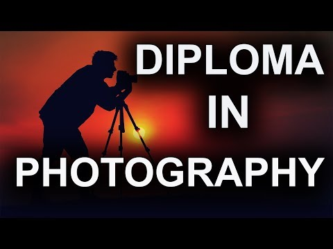 Diploma in Photography - Photography Training Course ... - YouTube