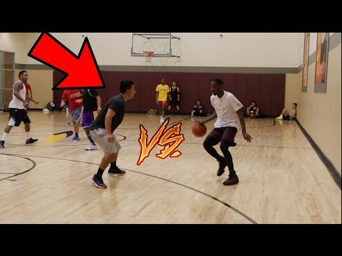 TRASH TALKERS GET EXPOSED IN PICK UP BASKETBALL FT RCKICKS (видео)