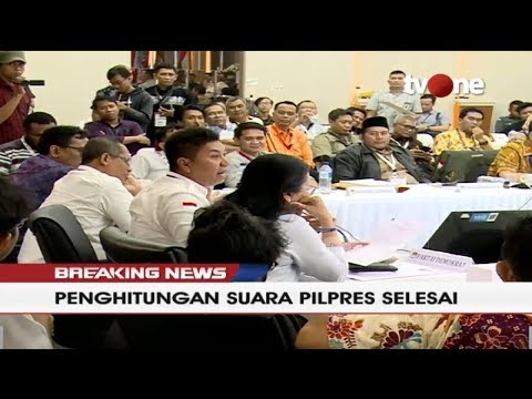 [BREAKING NEWS] GADUH!! Sidang Pleno Penghitungan Suara Pilpres di KPU