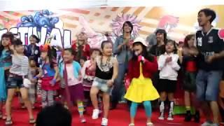 Hompimpa Harajuku_jegesya di gramedia depok, lagu anak