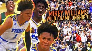 Mikey Williams INSANE CHAMPIONSHIP vs D1 PG Wayne McKinney! Jurian Dixon MVP! San Ysidro VS Coronado