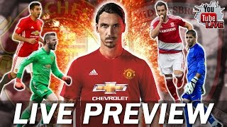 Manchester United Vs Middlesbrough LIVE Preview