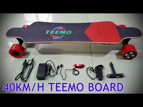 40Km/h TEEMO BOARD Unboxing Review – The best and cheapest Electric Skateboard