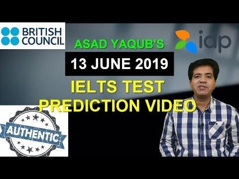 11 May 2019 Real Ielts Exam Prediction | Prediction by